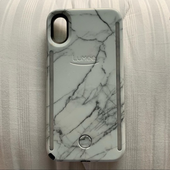 save off 8ee74 167bc LuMee marble iPhone X & XS case